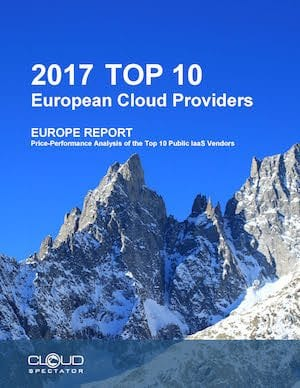 2017 Top 10 European Cloud Service Providers