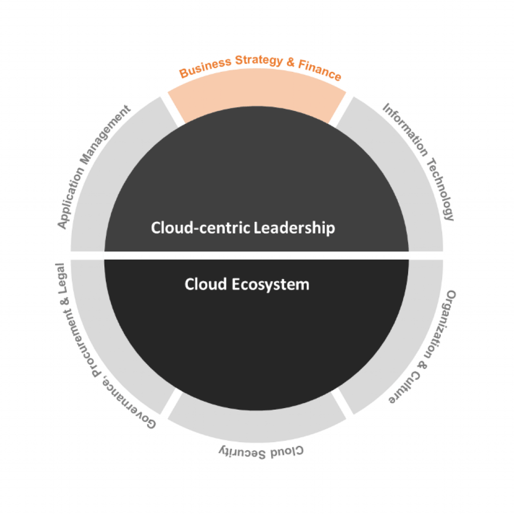 Cloud Transformation Readiness domain: Business Strategy and Finance